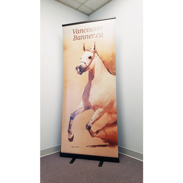 Vancouver Banner Printing Roll Up Banner Stand Trade