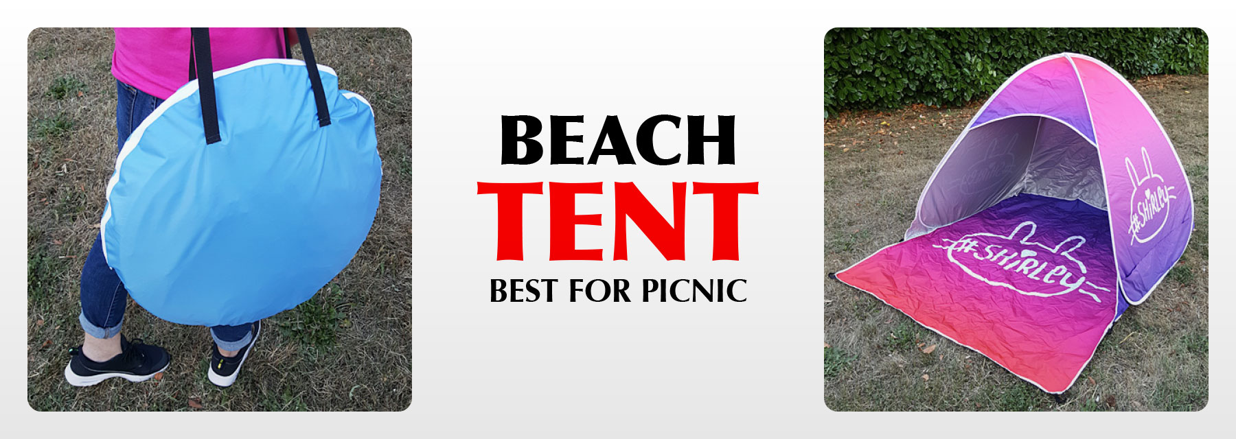 Beach tent for picnic